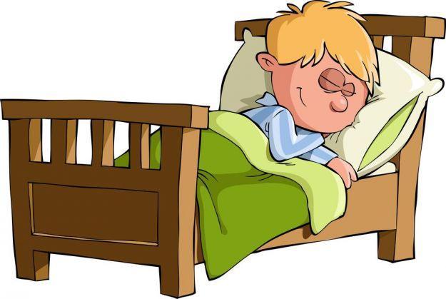 Человек спит рисунки